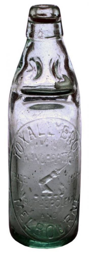 Yoxall Brothers Codd Marble Bottle