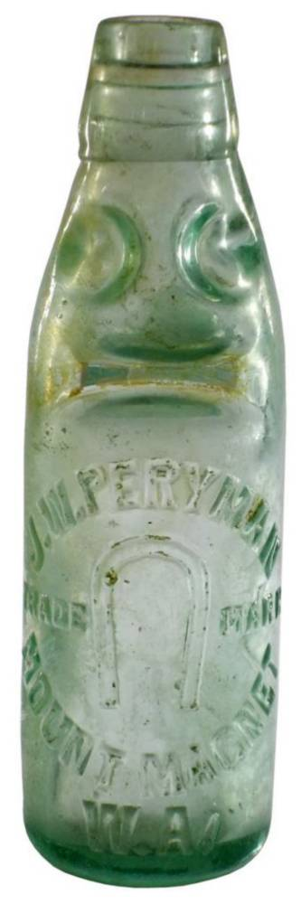 Peryman Mount Magnet Antique Codd Bottle